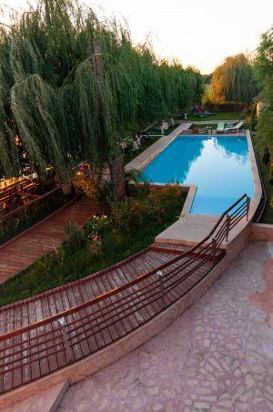 Piscina paradise delta house