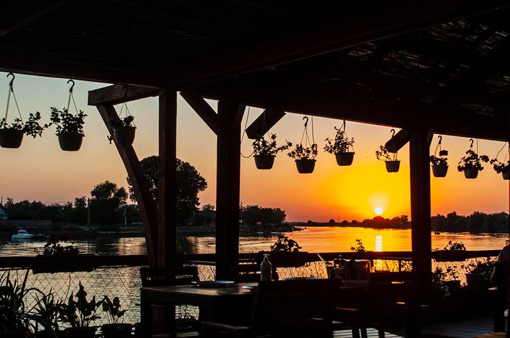 Asfiintit de soare in Delta Dunarii